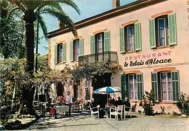 """CPSM FRANCE 06 """"Golfe Juan, Hotel Restaurant Le Relais d'Alsace"""""""