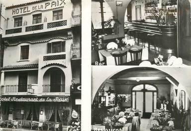 """CPSM FRANCE 06 """"Golfe Juan, Hotel de la Paix"""""""