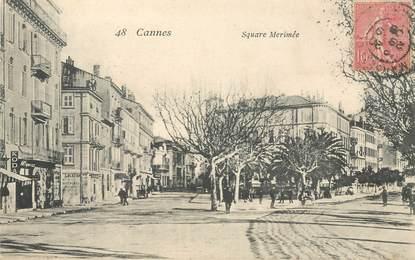 """CPA FRANCE 06 """"Cannes, Square Mérimée"""""""