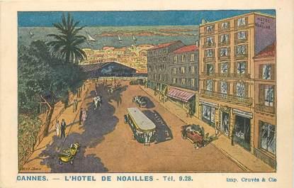 """CPA FRANCE 06 """"Cannes, Hotel de Noailles"""""""