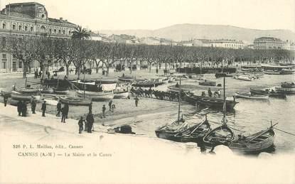 """CPA FRANCE 06 """"Cannes, la Mairie et le Cours"""""""