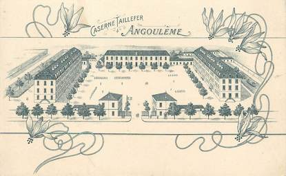 Cpa france 16 angoul me caserne taillefer 16 for Plan angouleme 16