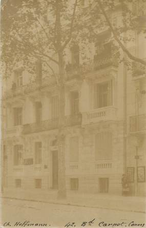 "CARTE PHOTO FRANCE 06 ""Cannes, 42 bld Carnot"""