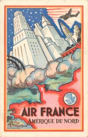 CPA PUBLICITE / AIR FRANCE