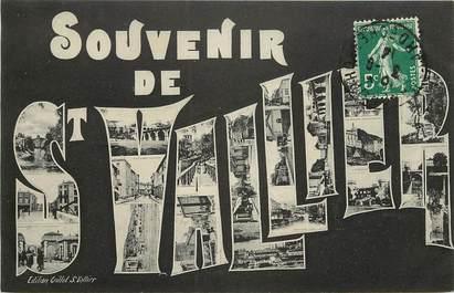 """CPA FRANCE 26 """"Souvenir de Saint Vallier"""""""