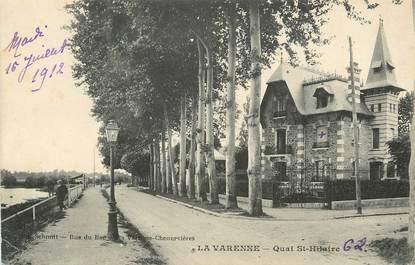 """CPA FRANCE 94 """"La Varenne, Quai Saint Hilaire"""""""