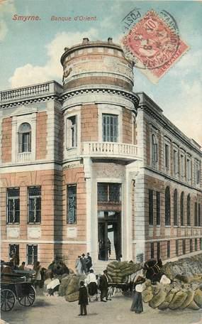 "CPA TURQUIE ""Smyrne, Banque d'Orient"""