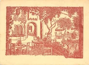 """CPSM FRANCE 06 """"La Colle sur Loup, Restaurant L'Abbaye"""""""