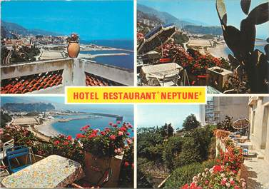 "CPSM FRANCE 06 ""Cap d'Ail, Hotel restaurant Neptune"""