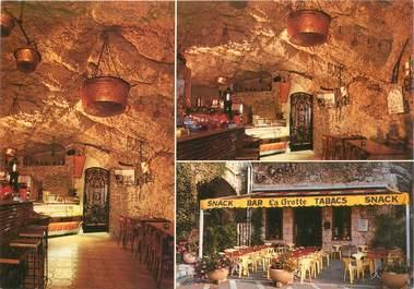"CPSM FRANCE 06 ""Roquebrune, restaurant Chez Gino"""