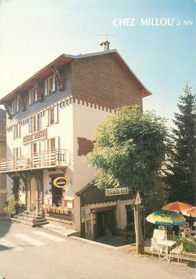 """CPSM FRANCE 06 """"Beuil, Hotel Millou"""""""