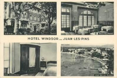 """CPSM FRANCE 06 """"Juan les Pins, Hotel Windsor"""""""
