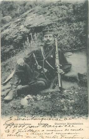 "CPA GRECE ""Athènes, guerrier macédonien"""