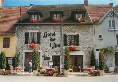 """CPSM FRANCE 39 """"Clairvaux les Lacs, Hotel Restaurant de l'Ain"""""""