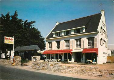 "CPSM FRANCE 56 ""Quiberon, Hotel restaurant Roch Priol"""