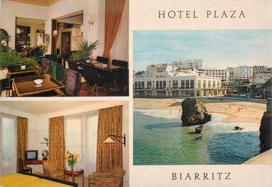 """CPSM FRANCE 64 """"Biarritz, Hotel Plaza"""""""