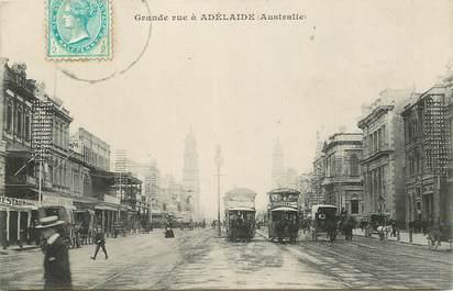 "CPA AUSTRALIE ""Adélaïde, grande rue"""