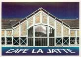 """92 Haut De Seine CPSM FRANCE 92""""Neuilly sur Seine, Café de la Jatte"""""""