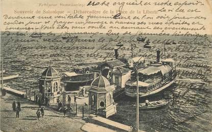 """CPA GRECE """"Souvenir de Salonique"""""""