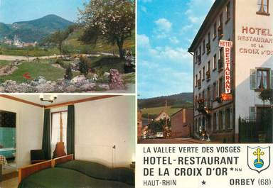"CPSM FRANCE 68 ""Orbey, Hotel de la Croix d'Or"""