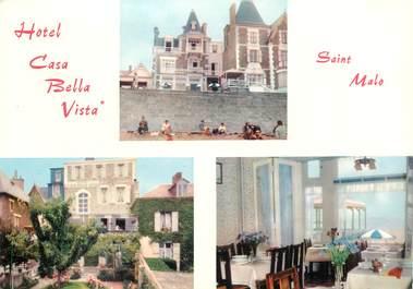 "CPSM FRANCE 35 ""Saint Malo, Hotel Casa Bella Vista"""