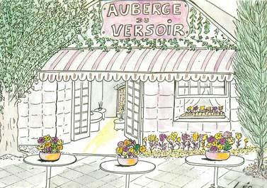 "CPSM FRANCE 91 ""Igny, Restaurant Auberge du Versoir"""
