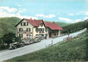 """CPSM FRANCE 68 """"Petit Haut près de Ste Marie aux Mines, Hotel restaurant Aux Sapins"""""""