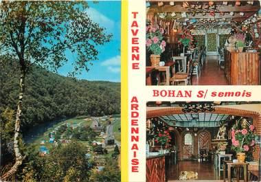 """CPSM FRANCE 08 """"Camp de la Douane, Taverne ardennaise"""""""