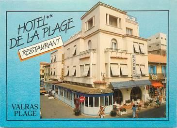 """CPSM FRANCE 34 """"Valras, hotel de la plage"""""""