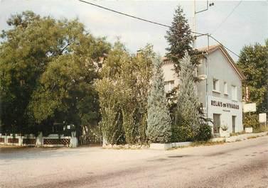 """CPSM FRANCE 07 """"Viviers sur Rhone, restaurant Relais du Vivarais"""""""