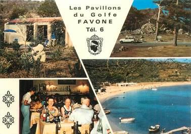 """CPSM FRANCE 20 / CORSE """"Favone, Les Pavillons du Golfe"""""""