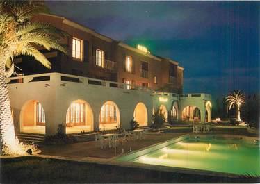 """CPSM FRANCE 20 / CORSE """"Lucciana, hotel restaurant Castellu Rossu"""""""