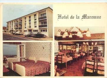 """CPSM FRANCE 40 """"Vieux Boucau les Bains, Hotel de la Maremne"""""""