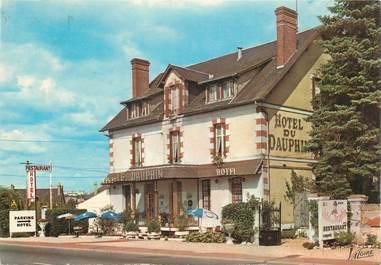 "CPSM FRANCE 41 ""Salbris, Hotel restaurant Le Dauphin"""