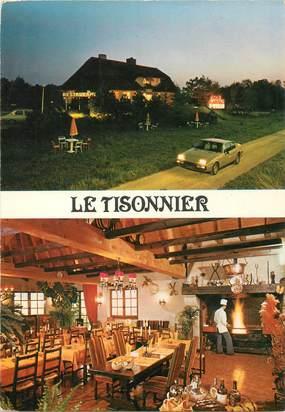 """CPSM FRANCE 25 """"Velesmes les Essarts, Restaurant Le Tisonnier"""""""