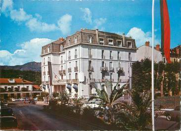 "CPSM FRANCE 73 ""Aix les Bains, International Hotel Rivollier"""