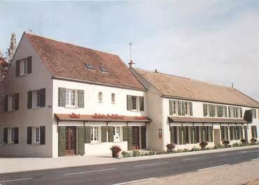 """CPSM FRANCE 89 """"Villeroy, Hotel restaurant Le Relais de Villeroy"""""""