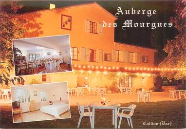 "CPSM FRANCE 83 ""Callian, Hotel restaurant Auberge des Mourgues"""