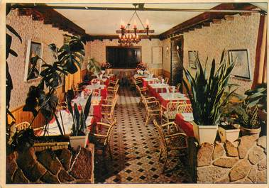 "CPSM FRANCE 83 ""Bagnols en Foret, Hotel restaurant du Commerce"""