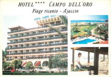 """CPSM FRANCE 20 / CORSE """"Ajaccio, Hotel Campo Dell'Oro"""""""
