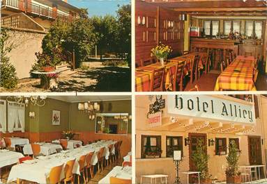 "CPSM FRANCE 05 ""Monetier les Bains, Hotel Alliey"""