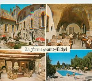 """CPSM FRANCE 26 """"Solerieux, Hotel restaurant La Ferme Saint Michel"""""""