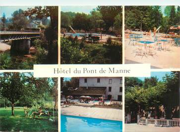 """CPSM FRANCE 26 """"Saint Thomas en Royans, Hotel du Pont de Manne"""""""