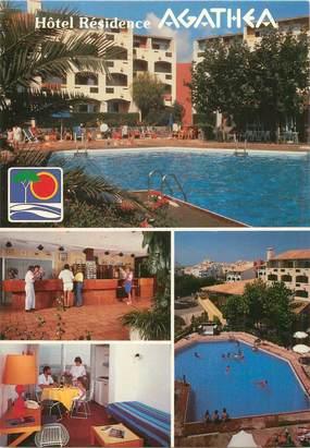 """CPSM FRANCE 34 """"Le Cap d'Agde, Hotel Agathea"""""""