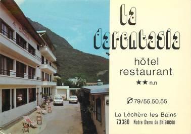 """CPSM FRANCE 73 """"La Lechere, Hotel La Darentasia"""""""