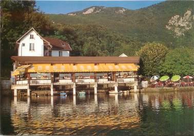 """CPSM FRANCE 73 """"Aiguebelette le Lac, Restaurant Aitis"""""""
