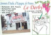 """37 Indre Et Loire CPSM FRANCE 37 """"Tours, restaurant le Derby"""""""