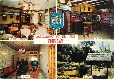 "CPSM FRANCE 37 ""Vouvray, Restaurant du Val Joli"""