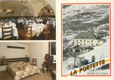 """CPSM FRANCE 05 """"Les Orres, Hotel La Portette"""""""