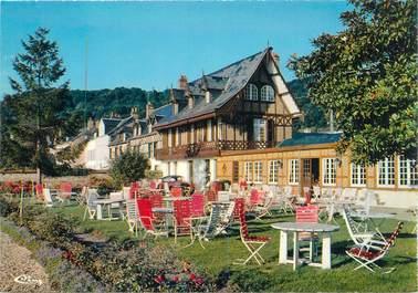 "CPSM FRANCE 76 ""Villequier, Hotel du Grand Sapin"""